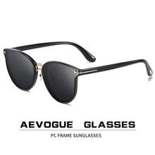 AEVOGUE yeni kadın Retro sürüş polarize güneş gözlüğü erkekler moda kore açık gözlük marka tasarım UV400 AE0819
