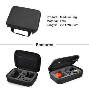 Image 5 - ספורט מצלמה נייד אחסון מקרה אוסף תיק לgopro גיבור 8 7 6 5 4 מושב SJCAM Xiaomi יי 2 4K Mijia ללכת אביזרים פרו