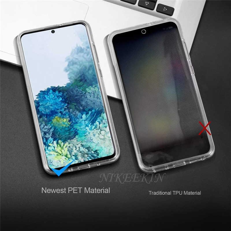 360 Toàn Thân Dành Cho Samsung A31 M31 M21 A71 A51 5G A10S A20E A30S M30S A50S Điện Thoại Rõ Ràng bao Da Dành Cho Galaxy A21S A41 A01 A11 A9S