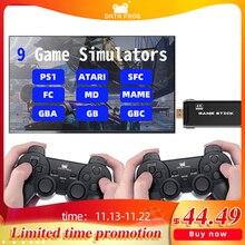 DATEN FROSCH Spiel Konsole Mit 2,4G Wireless Controller HDMI Video Spiel Konsole 600 Klassische Spiele Für GBA Familie TV retro Spiel
