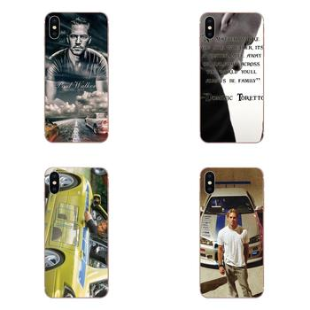 Skin Thin Paul Walker Fast And Furious For Samsung Galaxy Note 5 8 9 S3 S4 S5 S6 S7 S8 S9 S10 5G mini Edge Plus Lite image