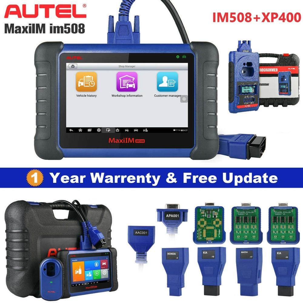 Autel MaxiIM IM508 & XP400 OBD2 All System Daignostic Scanners IMMO Keys Programming PK IM608