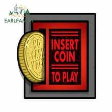 Earlfamily 13 см x 118 для ретро пинбол аркадные монеты слот