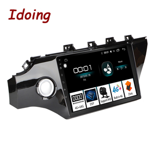 """Image 1 - Idoing 10.2""""4G+64G 2.5D IPS Octa Core 1Din Car Android Radio Video Player For Kia Rio K2 2017 2018 GPS Navigation and GLONASS"""