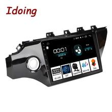 "Idoing 10,2 ""4G + 64G 2.5D IPS Octa Core 1Din coche Android Radio reproductor de vídeo para Kia Rio K2 2017 2018 navegación GPS y GLONASS"