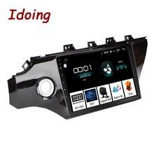 Idoing Radio con GPS para coche, Radio con reproductor de vídeo, Android, pantalla IPS de 10,2 pulgadas, 4G + 64G, 2.5D, Octa Core, 1DIN, para Kia Rio K2 2017 2018