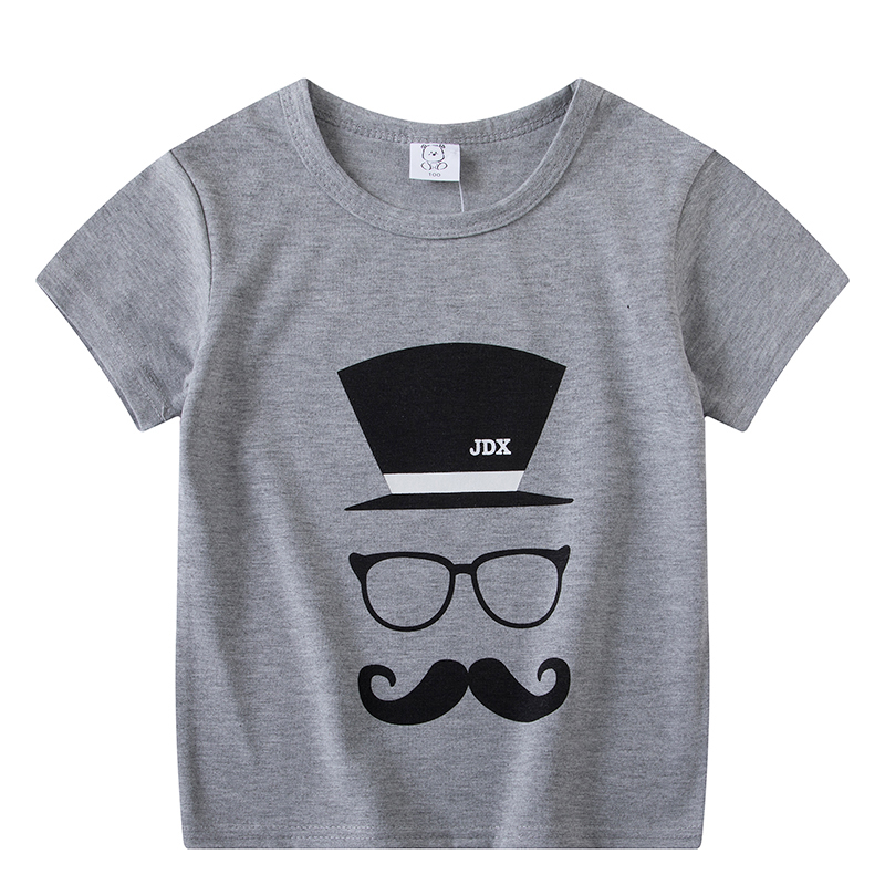 Baby Boy Girl T-Shirt Short Sleeve Cartoon Pattern T-Shirts For Kids Tops Tees T-Shirts Casual Blouse Girls Short Sleeve Tops