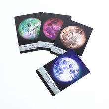 Moonlogy Divination Cards: Ask and Know the mythic fate divination for fortune games 44 cards/set