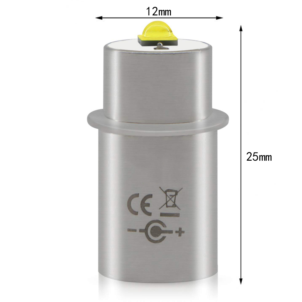 Maglite LED Light Bulbs 3w 3v 4-12v 6-24v 18v Conversion Kit Upgrade Bulb 2 3 4 5 6 Cell D/C Torch Magnesium Flashlight