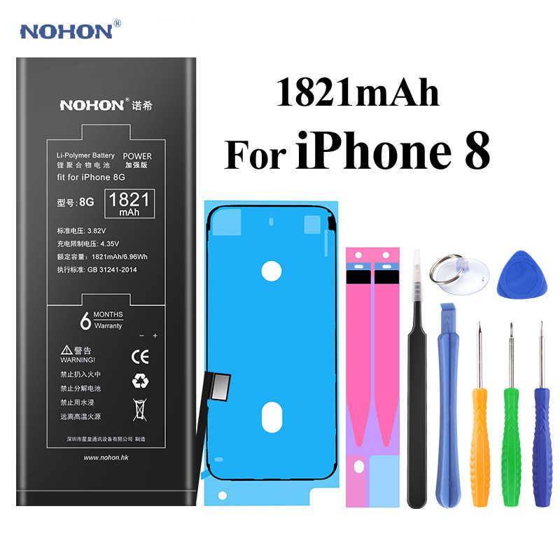 NOHON Pin Cho iPhone 6S 6 5 S 7 8 iPhone6S 1700mAh ~ 2265mAh Dung Lượng Cao bateria + Dụng Cụ Dành Cho iPhone 6S 6 5 S 7 8 Pin