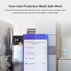 Image 3 - Itead Sonoff IW100/IW10 US Wi Fi Смарт контроль мощности розетка и переключатель энергосберегающая защита от перегрузки через приложение eWeLink