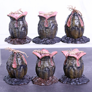 Изысканный мини-инопланетянин Кавинант инопланетное яйцо Facehugger мини ПВХ фигурка игрушка кукла рождественский подарок на день рождения
