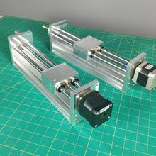 NEMA17/23 шаговый двигатель с ЧПУ Z AXIS SLIDE 170/270 мм Дорожный для маршрутизатора с ЧПУ комплект линейного движения для Reprap 3d принтер запчасти с ЧПУ