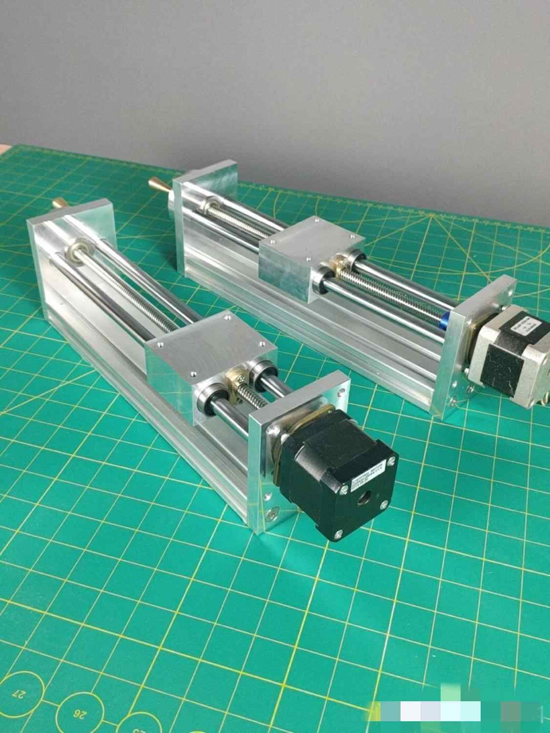 NEMA17/23 stepper motor CNC Z AXIS SLIDE 170/270mm TRAVEL FOR CNC ROUTER Linear Motion kit For Reprap 3D Printer CNC Parts
