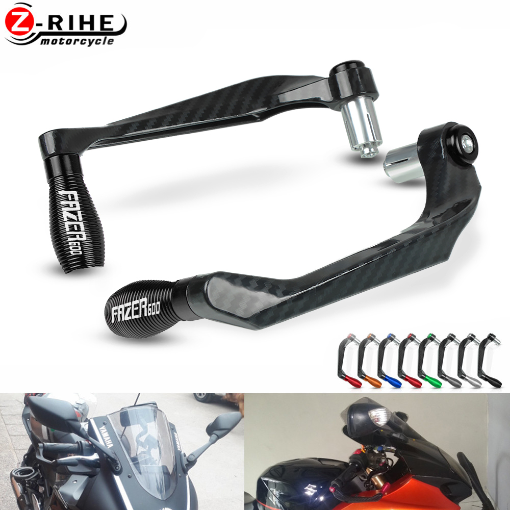 Motorcycle Brake Clutch Lever Hand Guard Handle Falling Protection For <font><b>YAMAHA</b></font> FAZER600 <font><b>FAZER</b></font> <font><b>600</b></font> 1998 1999 <font><b>2000</b></font> 2001 2002-2004 image