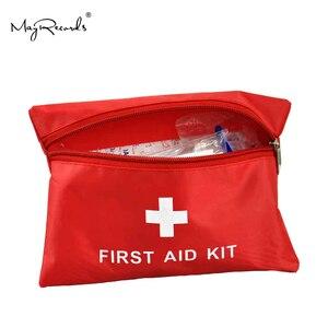 Image 2 - Su geçirmez Mini açık seyahat araba ilk yardım çantası ev küçük tıbbi kutu acil hayatta kalma kiti ev