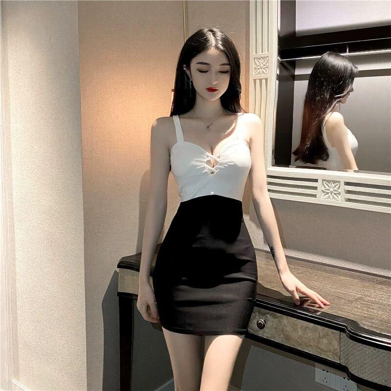 Небольшой Размеры платье 2021 Новый чулок пояс для похудения для ночного клуба; Пикантная мини-юбка