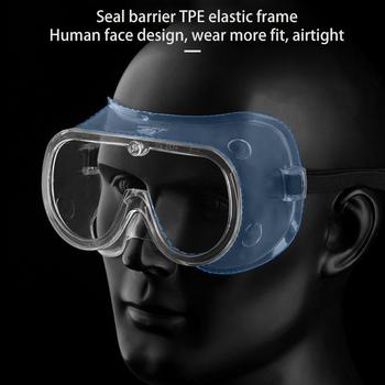 Spawanie pyłoszczelne okulary do pracy ochronne okulary ochronne Sport bezpieczeństwo wiatroszczelne taktyczne okulary ochronne tanie i dobre opinie Other