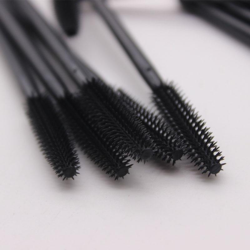 300 peças lote maquiagem descartável silicone cílios