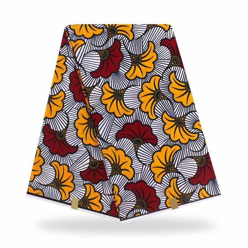 African Wax fabric Ankara Fabric 2020 new fashion wax fabric African Fabric Print 100% Cotton Pagne Africain Original Wax