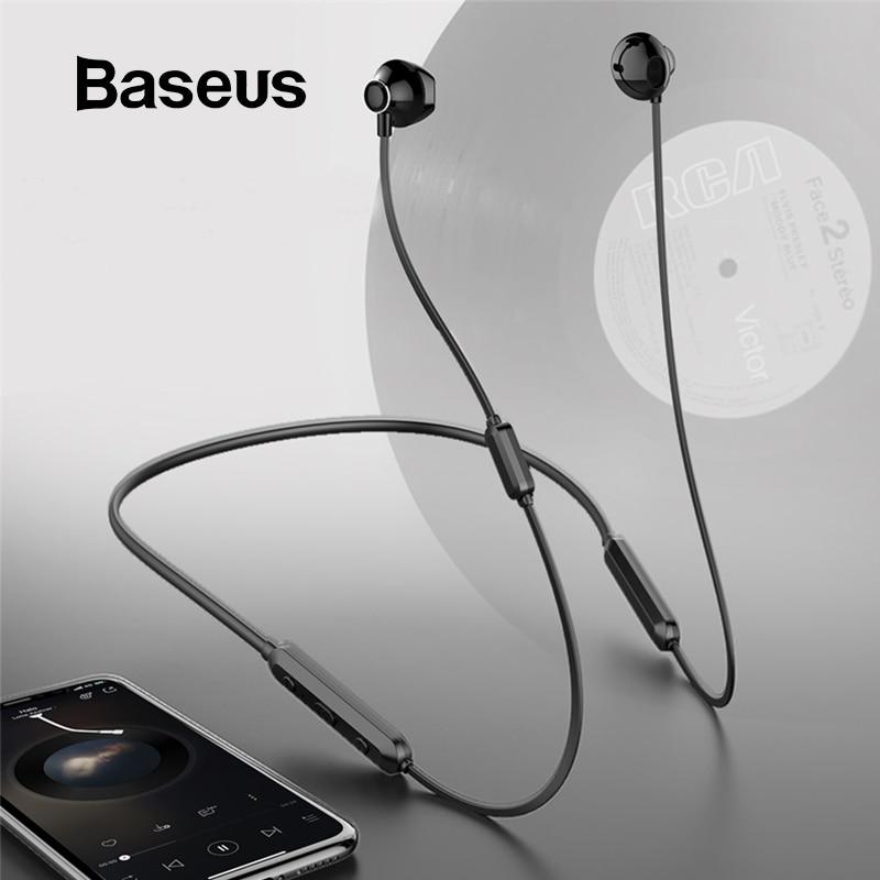 Baseus S11A Bluetooth Earphone Sport Wireless Headphone Wireless Earphones Bluetooth Headset For IPhone Xiaomi 9 Huawei P30 Pro