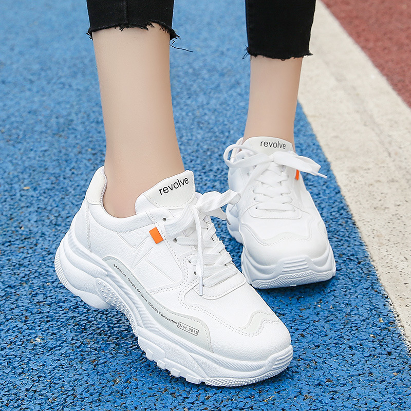 New Classic Chunky Sneakers Women Fashion Dad Sneakers Sneakers Comfortable Platform Casual Shoes Woman Tenis Feminino Size35~41