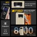 F150 B2021 IP68/69K смартфон 6 ГБ + 64 ГБ 8000 мАч Восьмиядерный мобильный телефон NFC 5,86 ''HD + MTK Helio G25 13MP Камера чехол для телефона