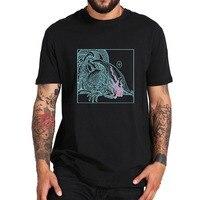 Maglietta in scala e ghiacciata Shy Away maglietta elettronica Pop Star manica corta Synth-Heavy EDM Tee estate 100% cotone Top taglia ue