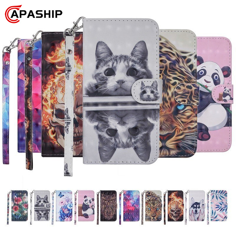 Cute 3D Cartoon PU Wallet <font><b>Case</b></font> For <font><b>Samsung</b></font> Galaxy J2 J3 <font><b>J5</b></font> J7 Pro 2017 EU J4 J6 Plus J8 2018 Cover Flip <font><b>Leather</b></font> Card Slot <font><b>Cases</b></font> image