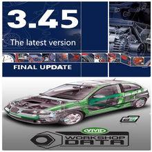 2020 software de reparação de automóveis quente oficina vívida 10.2 software automóvel -- dados 3.45 da europa informação automóvel -- software de dados