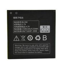 ALLCCX BL194 bateria para Lenovo A298t A370 A326 A689 A698T A780 a530 A660 a710e