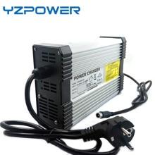 YZPOWER 54.6V 4.5A 5A 5.5A 6A 6.5A 7A 7.5A 8A ليثيوم ليثيوم أيون شاحن بطاريات الناتج DC المدخلات 100 240V