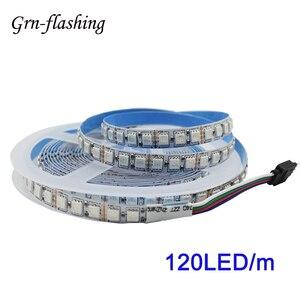 Super brilhante 5m 5050 rgb led luz de tira 120led/m dc 12v fita led controle remoto para interior casa quarto tv backlight decoração
