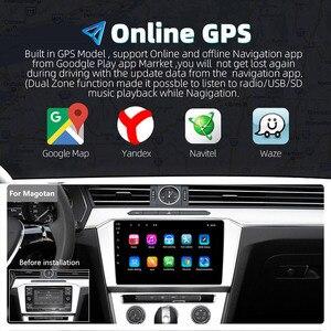Image 2 - Universal 10นิ้ว/9นิ้ว2din Android 8.1รถวิทยุ1080P TouchระบบนำทางGPS Bluetooth Wifi SWC DAB FM AMกระจกเชื่อมโยงOBD 2