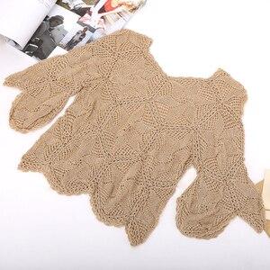 Image 2 - 300グラムイタリア桑シルク糸木綿糸でcrocheライン絹織物デザイナークール夏の氷の絹ニットZL4