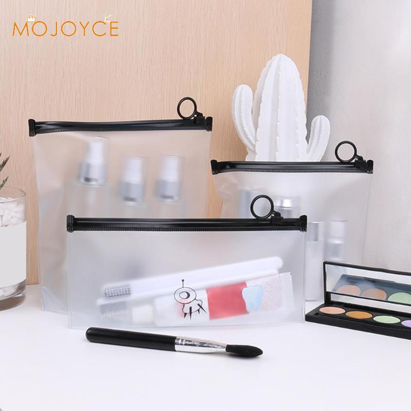 Fashion Travel Women Clear Transparent Cosmetic Bag Small Large PVC Necessary Makeup Bag Women Travel Cosmetic Wash Pouch