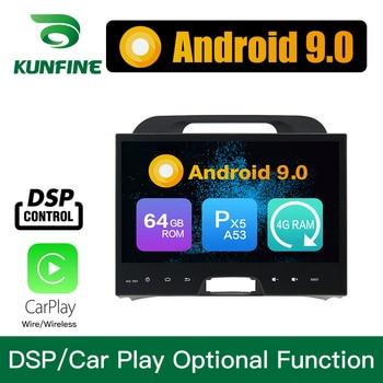 Android 9.0 Octa Core 4GB RAM 64GB ROM Car DVD GPS Navigation Multimedia Player Car Stereo for Kia SPORTAGE   2010-2015 Radio