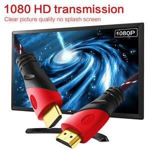 Image 2 - Nylon haute vitesse HDMI câble support 1080P 3D adaptateur affichage port connecteur pour commutateur ordinateur Ps4 projecteur moniteur HDTV