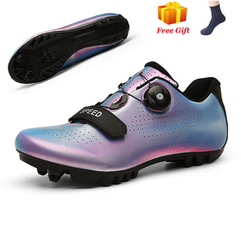 Professional Athletic Bicycle Shoes MTB Cycling Shoes Men Self-Locking Road Bike Shoes sapatilha ciclismo Women Cycling Sneakers 7