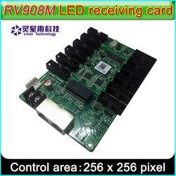 LINSN RV908M приемник карты светодиодный дисплей системы управления, предлагаем 1/32 сканирования полноцветный P2.5 P3 P4 P5 P10 Светодиодный модуль