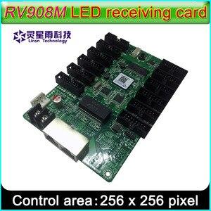 Image 1 - LINSN RV908M32 קבלת כרטיס בקרת תצוגת LED מערכת, מציע 1/32 סריקה מלא צבע LED מודול
