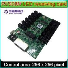 Linsn RV908M32受信カードは、表示制御システム、1/32示唆するスキャンフルカラーledモジュール