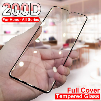 200D Tempered Glass On The For Huawei Honor 10 20 Lite 10i 20i 20s 9X 8X 8S 8A 10 Lite Screen Protective Glass Safety Film Case
