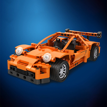 Winner 2 in 1 Technic Creator GTR Pull Back Car Building Blocks Sets Bricks Classic Model Kids Toys For Children Gifts