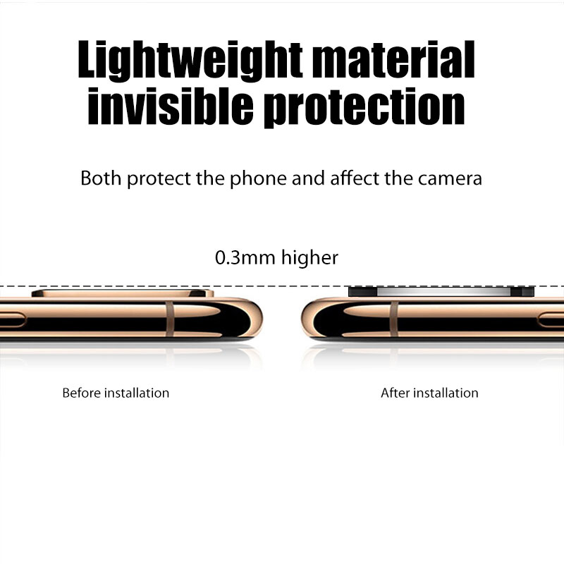 Applicable For iPhone Apple X Seconds Change 11 Lens Sticker XSMAX Modified 11PROMAX Explosion Modified Lens 11PROMAX Camera (6)