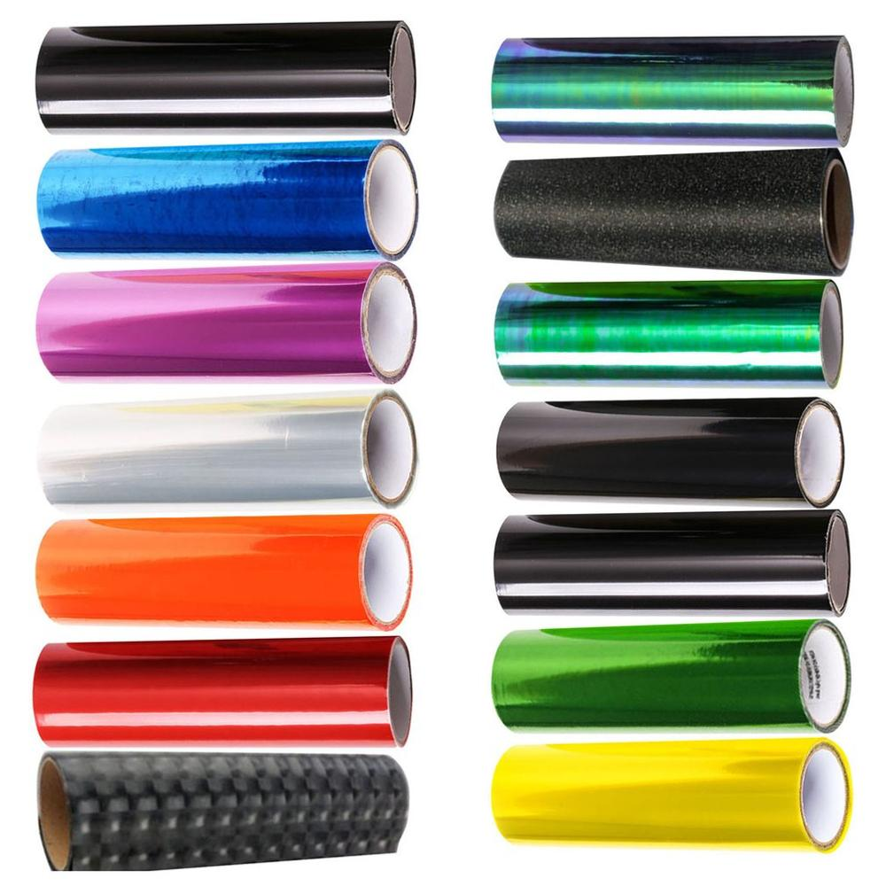 Car Headlights Color Film Tail Light Film Headlights Transparent Film Chameleon Car Foil Mobile Phone Laptop Stickers