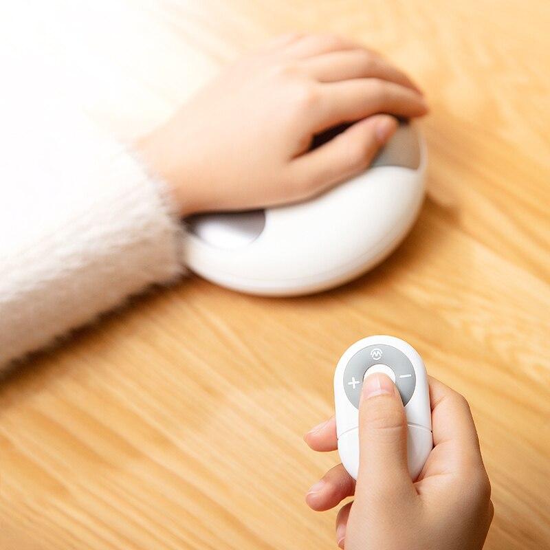 Smart Elektrische Hand Massage Gerät Wärme Palm Finger Massage Magnetische Therapie Puls Schmerzen Relief Werkzeug Gesundheit Pflege Entspannung