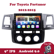 Android 9.0 IPS Touch Screen 4 Core Car Radio for Toyota Fortuner Hilux SW4 2012 2013 2014 2015 Car DVD GPS Navigation Wifi