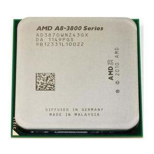 AMD A8-Series A8 3870K A8 3870 3.0GHz Quad-Core CPU Processor AD3870WNZ43GX Socket FM1