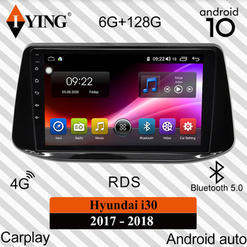IYING Android Auto Carplay For Hyundai i30 2017-2018 Car Radio Multimedia Video Player Navigation GPS DSP Android 10 No 2din dvd image